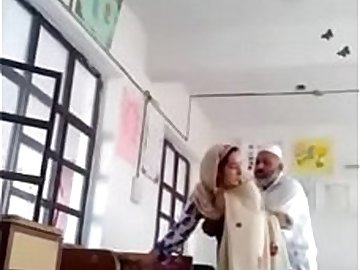 Desi Hijab Teacher Blowjob &amp_ sex Inside class with Maid (ActModel KATStory)