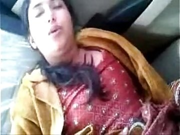 Beautiful Indian Punjabi bhabi fucked in car